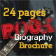 24 Pages Rock Biography Brochure - GraphicRiver Item for Sale