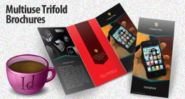 Multiuse Trifold Brochures
