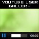 YOUTUBE USER GALLERY - FlashVars driven - ActiveDen Item for Sale