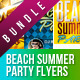 Summer Spring Party Flyer Bundle  - GraphicRiver Item for Sale
