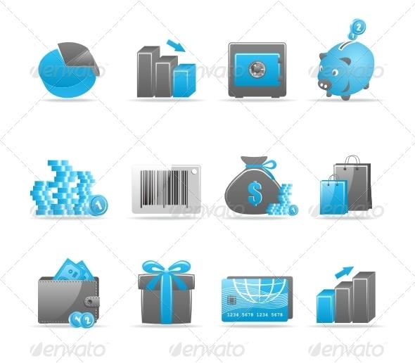 GraphicRiver Glossy icon set 85106