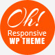 Oh Responsive Portfolio WP Theme - ThemeForest Item for Sale
