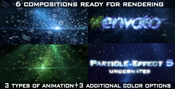 Particle Effect 5 Underwater