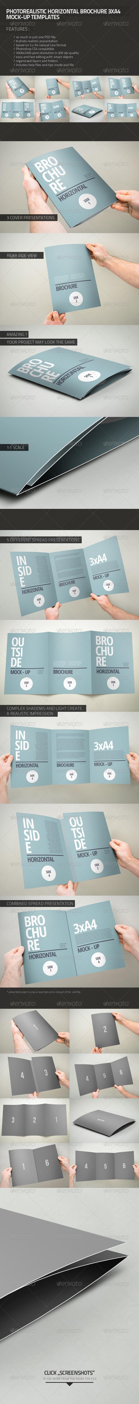 Photorealistic Brochure 3xA4 - Brochures Print