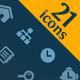 21 web icons