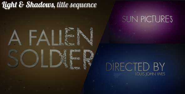 After Effects Project - VideoHive Light And Shadows 2368733
