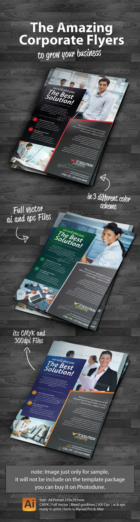 The Amazing Corporate Flyers - Corporate Flyers