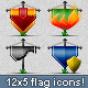 Gaming Flag Icons - GraphicRiver Item for Sale