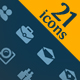 21 web icons #2 - GraphicRiver Item for Sale