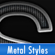 Metal Grille Styles - GraphicRiver Item for Sale