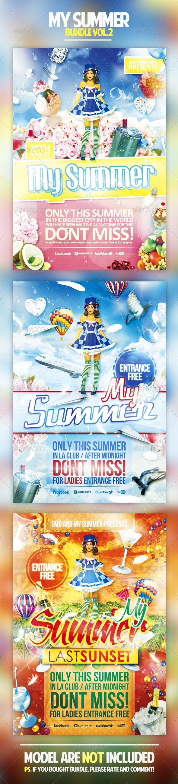 My Summer Bundle Vol.2 - Holidays Events