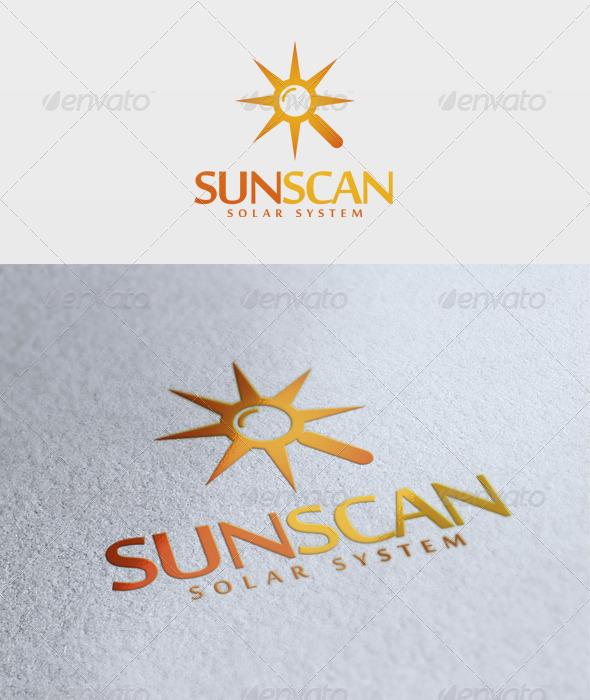 Sun Scan Logo - Symbols Logo Templates