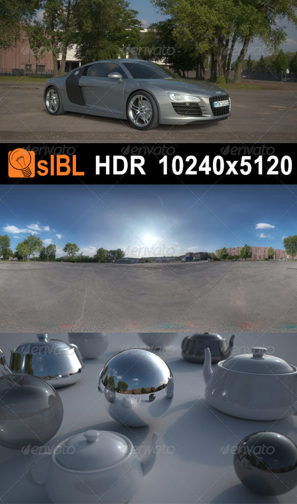 HDR 111 Parking Space 2 - 3DOcean Item for Sale