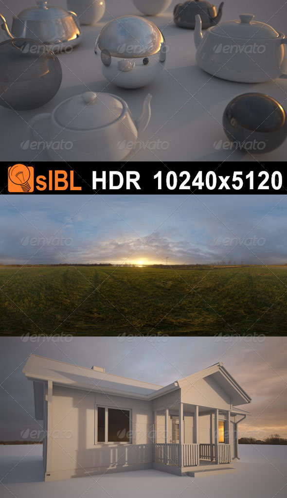 HDR 106 Dawn Sky - 3DOcean Item for Sale