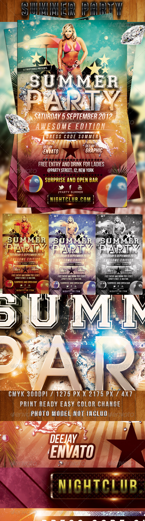 Party Summer - Clubs & Parties Events