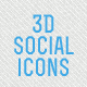 3D social icons - CodeCanyon Item for Sale