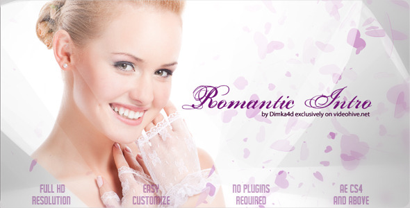 After Effects Project - VideoHive Romantic Intro 2372826