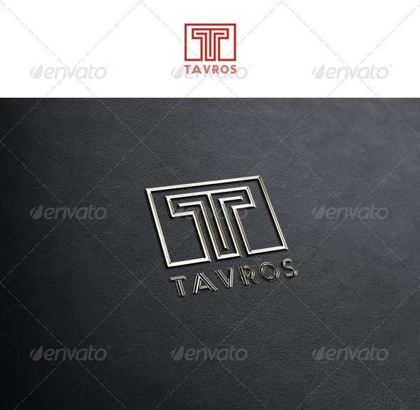 T - Tavros - Letters Logo Templates