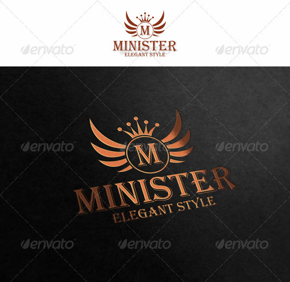Minister - Crests Logo Templates