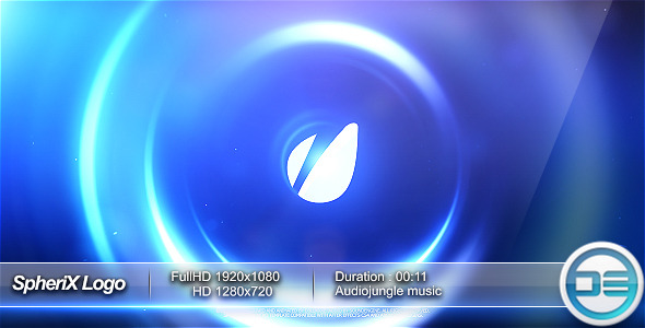 VideoHive SpheriX Logo Intro 2375045
