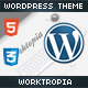 Worktropia | WordPress Theme HTML5 & CSS3