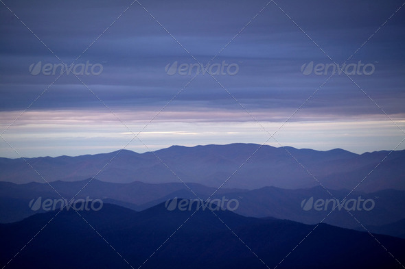 Smoky Mountains - Stock Photo - Images