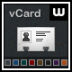 vCard Professional Template – 8 Color  Free Download