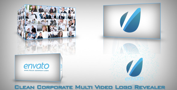 After Effects Project - VideoHive Clean Corporate Multi Video-Logo Opener 2 ...