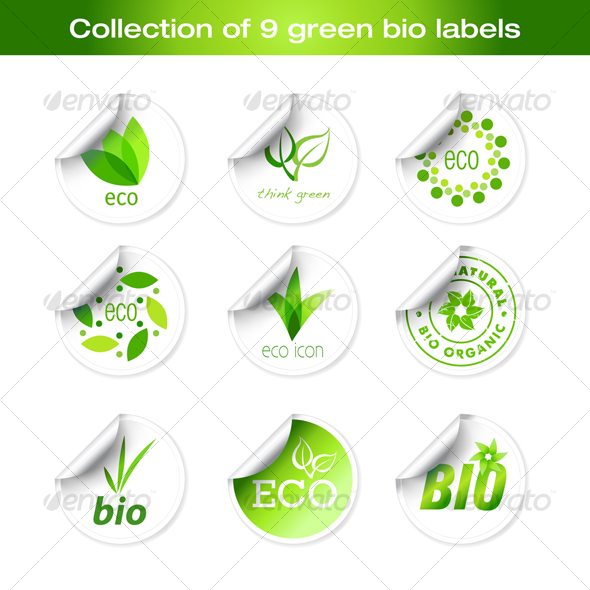 Bio Stickers - Miscellaneous Icons