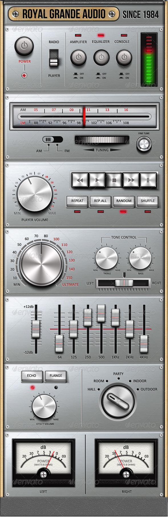 GraphicRiver Royal Grande Very Old Audio Set UI 2379380