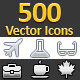460 Vector Icons - GraphicRiver Item for Sale