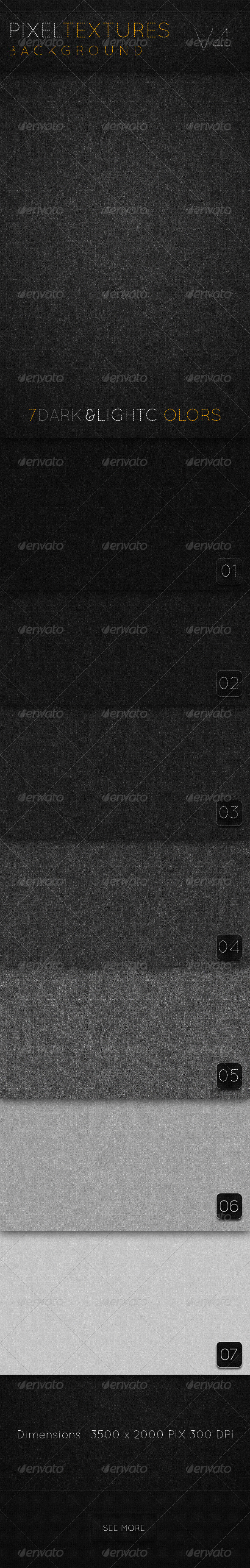 GraphicRiver Pixel Textures background V4 2380201