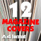 12 Magazine Covers Bundle - GraphicRiver Item for Sale
