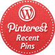 Recent Pins Widget for WordPress