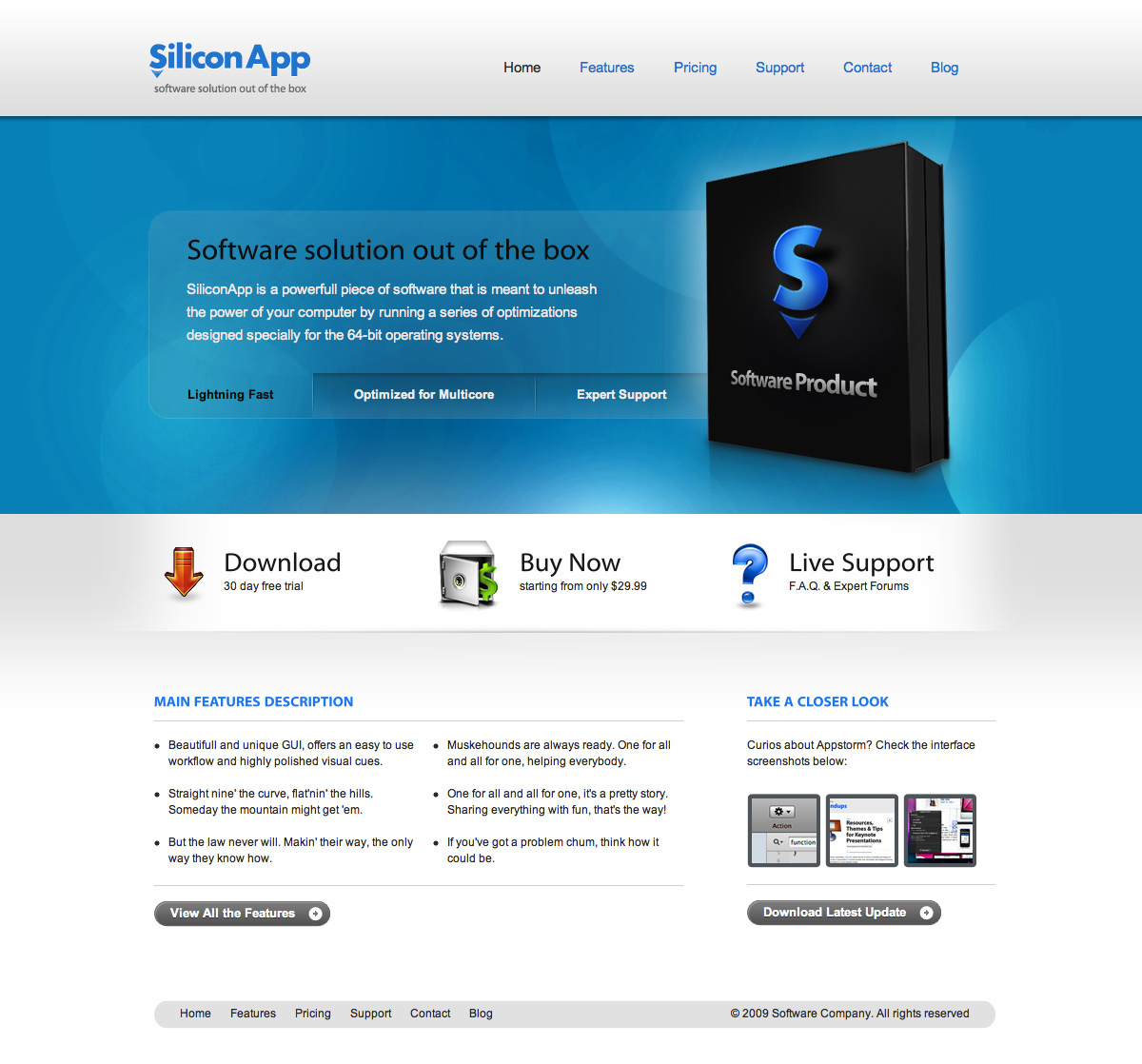 SiliconApp - Desktop / Mobile Software product