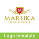 Marlika Insurance Logo Template - GraphicRiver Item for Sale