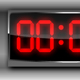 Metallic Digital Clock - ActiveDen Item for Sale