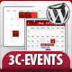 3C-Events : Wordpress All-in-One Event Calendar - CodeCanyon Item for Sale