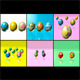 Easter Eggs Set - Mega Pack 01 - 3DOcean Item for Sale