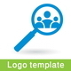 Search Workers Logo Template