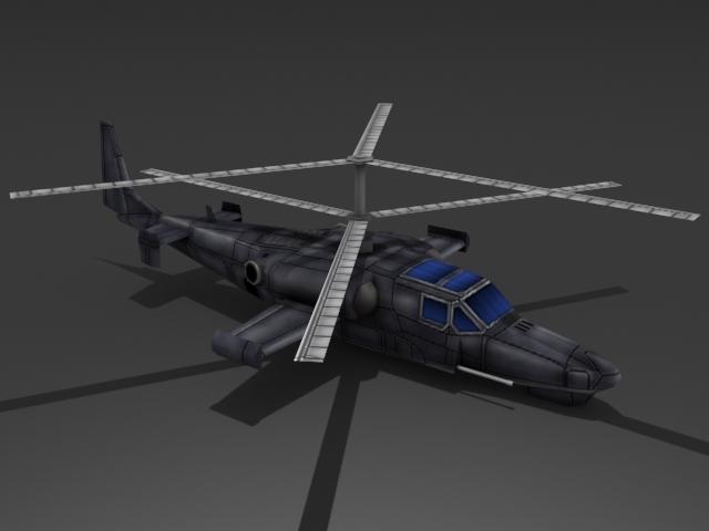 3DOcean Ka-50 Hokum 2384405