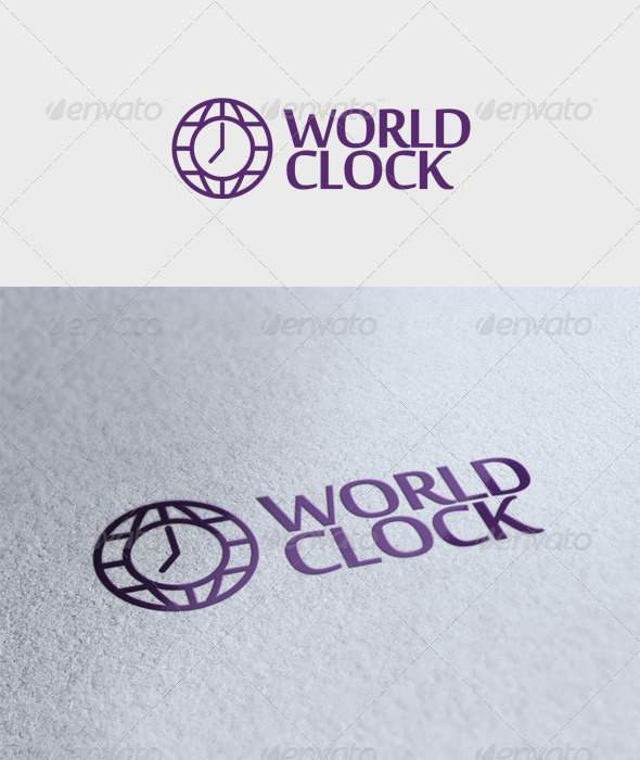 World Clock Logo