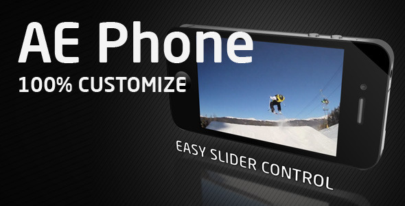 After Effects Project - VideoHive AE Phone 2346722