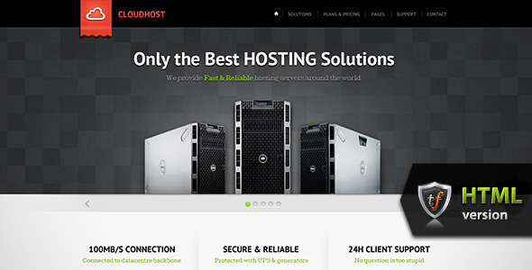 CloudHost - Hosting & Internet Business HTML Theme - Hosting Technology