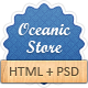 Oceanic Store - Responsive HTML Template - ThemeForest Item for Sale