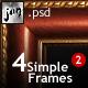 Simple Frames Pack 2