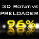 Preloader 3D Rotative / AS 3.0 - ActiveDen Item for Sale