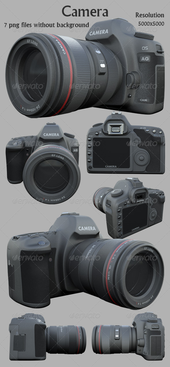 GraphicRiver Camera 3D Render 2388517