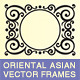Oriental Asian Borders And Frames - GraphicRiver Item for Sale