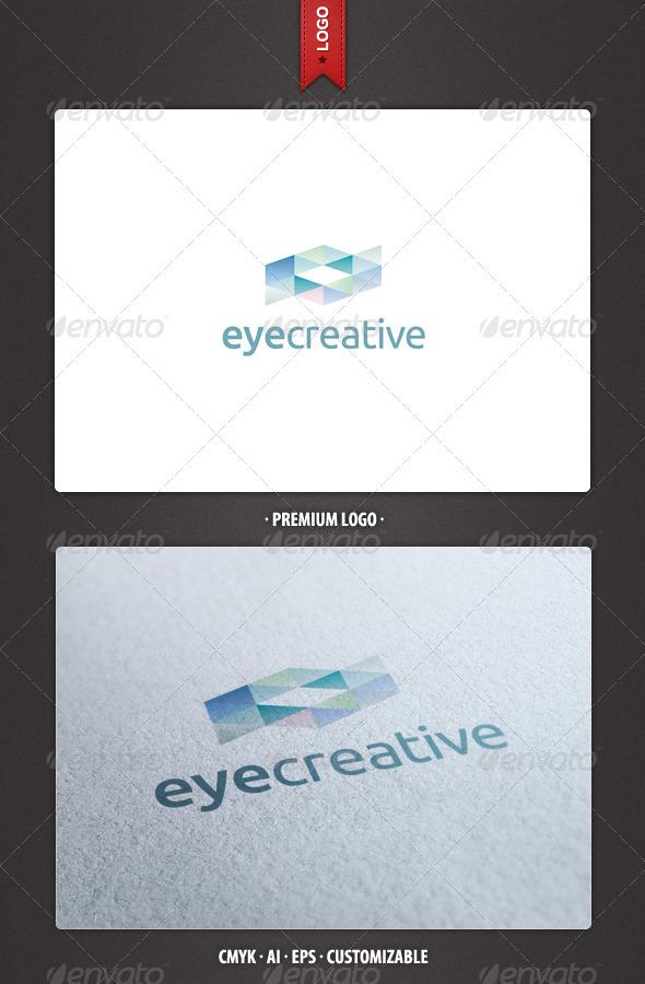 GraphicRiver Abstract Eye Creative Logo Template 2390816